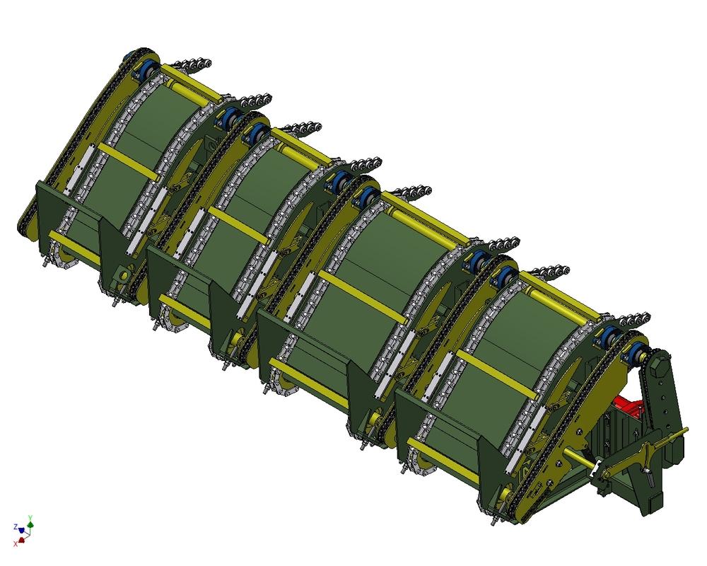 202 Rozjednocovací dopravník - elevátor